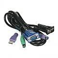 PLANET KVM-DCB-1.8 Kabel 1-3 1.8m do KVM serii DKVM